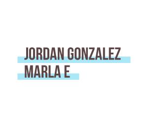 Jordan Gonzalez Marla E